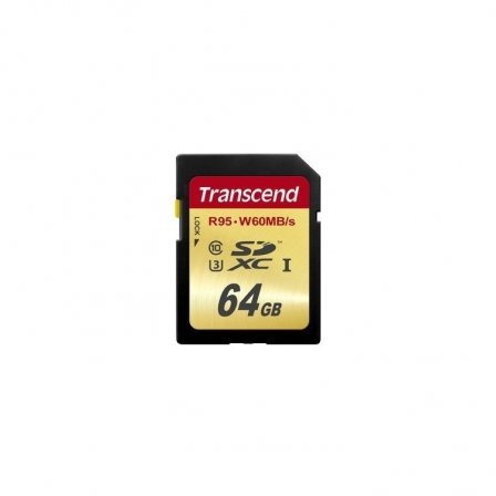 Карта памяти Transcend SDXC 64GB Class 10 UHS-I U3 Ultimate (TS64GSDU3)