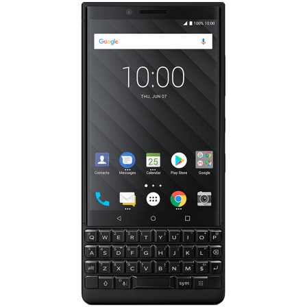 Смартфон BlackBerry KEY2 Black Edition 64GB
