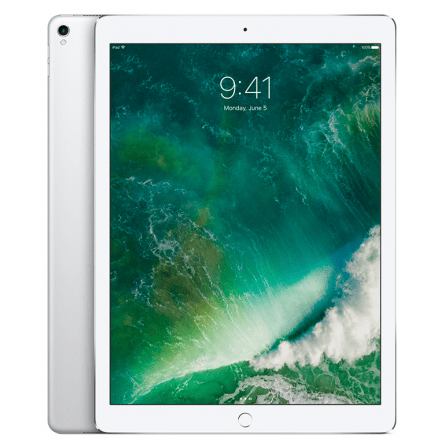 Apple iPad Pro 12,9 Wi-Fi+4G 128Gb Silver (ML3N2)