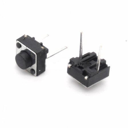 Кнопка - микропереключатель Middle 2 feet of vertical touch switch micro switch button switch 6*6*5   6MM needle length
