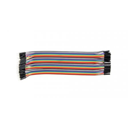 Кабель 20cm Male TO Female  40Pin Solderless Jumper Breadboard Wires
