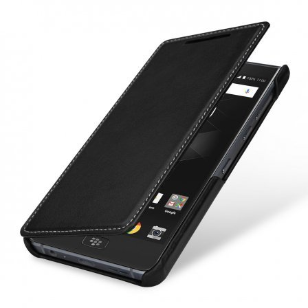 Чехол BlackBerry Motion StilGut book type without clip книжка черный Наппа