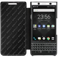 Чехол BlackBerry KeyOne StilGut book type without clip книжка черный наппа