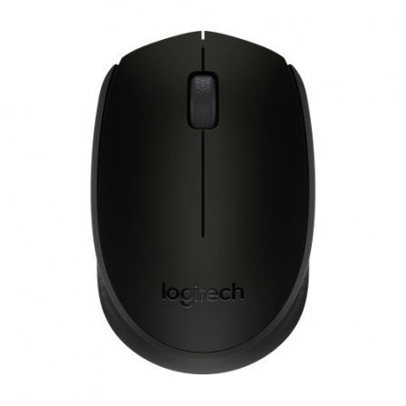 Мышь Logitech B170 Wireless Black (910-004798)