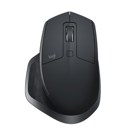 Мышь Logitech MX Master 2S Wireless/Bluetooth Graphite (910-005139)