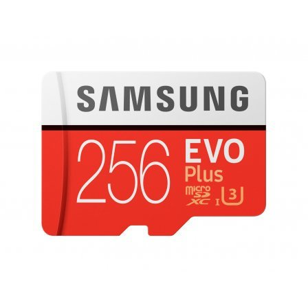 Карта памяти Samsung microSDXC 256GB EVO Plus UHS-I U3 Class 10 + SD Adapter (MB-MC256GA/RU)