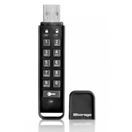Внешний USB накопитель iStorage datAshur Personal 2 256-bit 8 GB USB Flash Drive