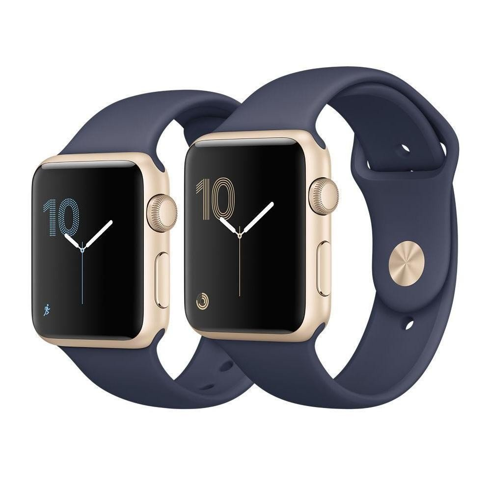 картинка Apple Watch Series 1 38mm (MNNG2)/ 42mm (MNNL2) Silver Aluminum Case with White Sport Band